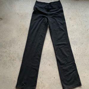 Lululemon black Leggings Groove Pant Size 4 flare